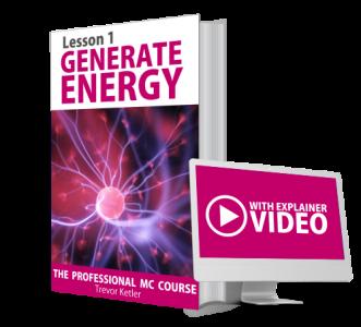 Trevor Ketler - The Professional MC Course - Generate Energy